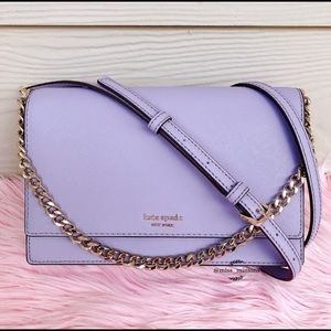 🆕 Kate Spade NWT crossbody cameron icy lavender